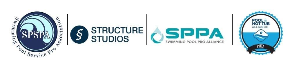 paradise pool partners logos