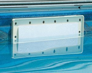 skimmer closed with faceplate
