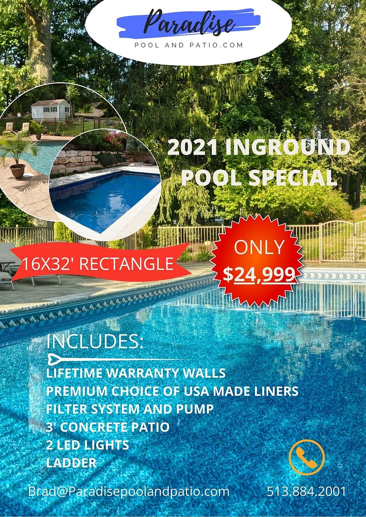 inground pool special flyer 2021
